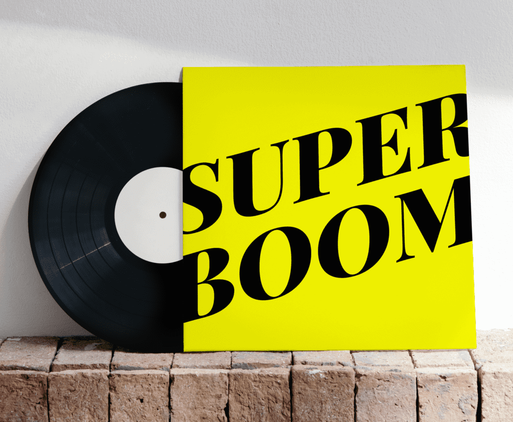 vinyle superboom